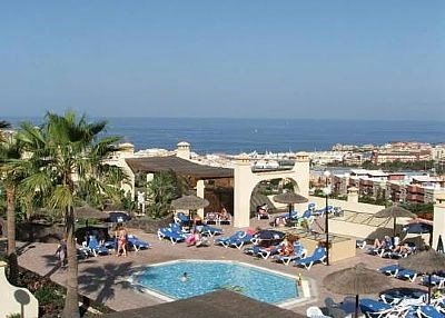 Apartment in Spain, Miraverde: Views over the complex to the sea