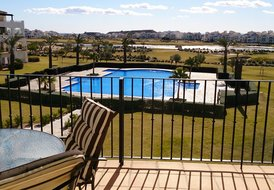 Luxury SecondFLoor Ap. Hacienda Riquelme Golf
