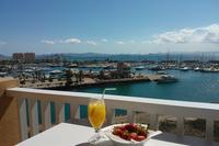 Apartment in Spain, La Manga: Amazing view from main balcony