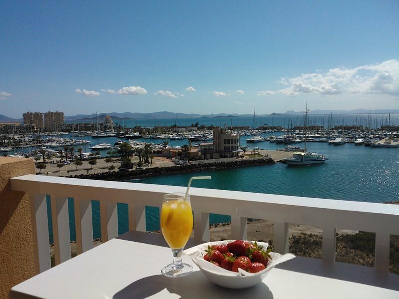 Apartment in Spain, La Manga: Amazing view from main balcony