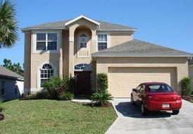 Villa in Tuscan Ridge, Florida: Front Elevation