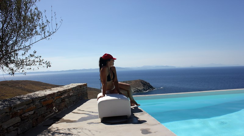 Villa in Greece, Kea