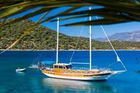 Boat in Turkey, Kalkan: View of Gulet Dilara