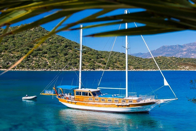 Boat in Turkey, Kas