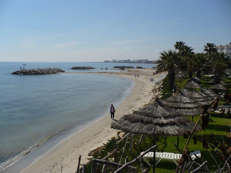 Apartment in Tunisia, Sousse: beach near the apartment