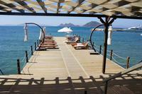 Apartment in Turkey, Turgutreis Marina: Tourists may use also hotel facilities at sea front promen..