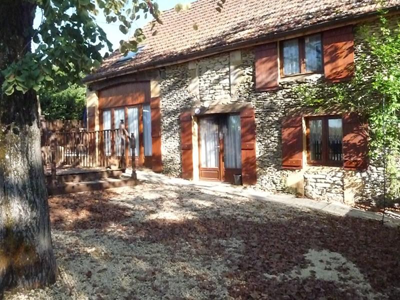 Gite in France, Gourdon: The sunny barn