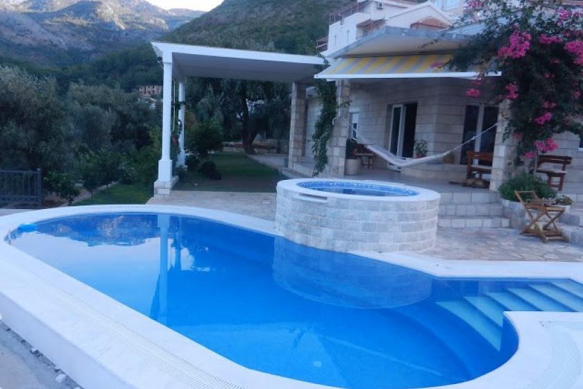 Villa To Rent In Budva Riviera Montenegro With Private