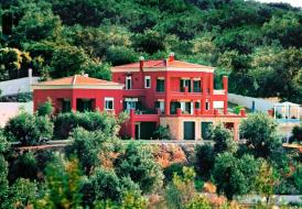 Stylish Regina Rossa Villa with panoramic sea view from inside