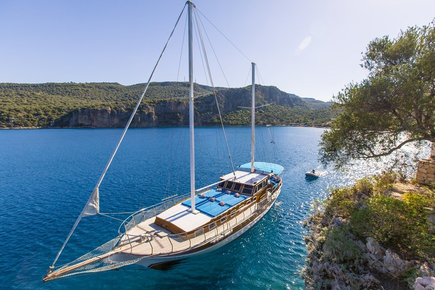 Boat in Turkey, Kaş