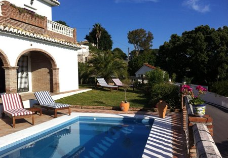 Villa in Mijas, Spain: Pool and Garden