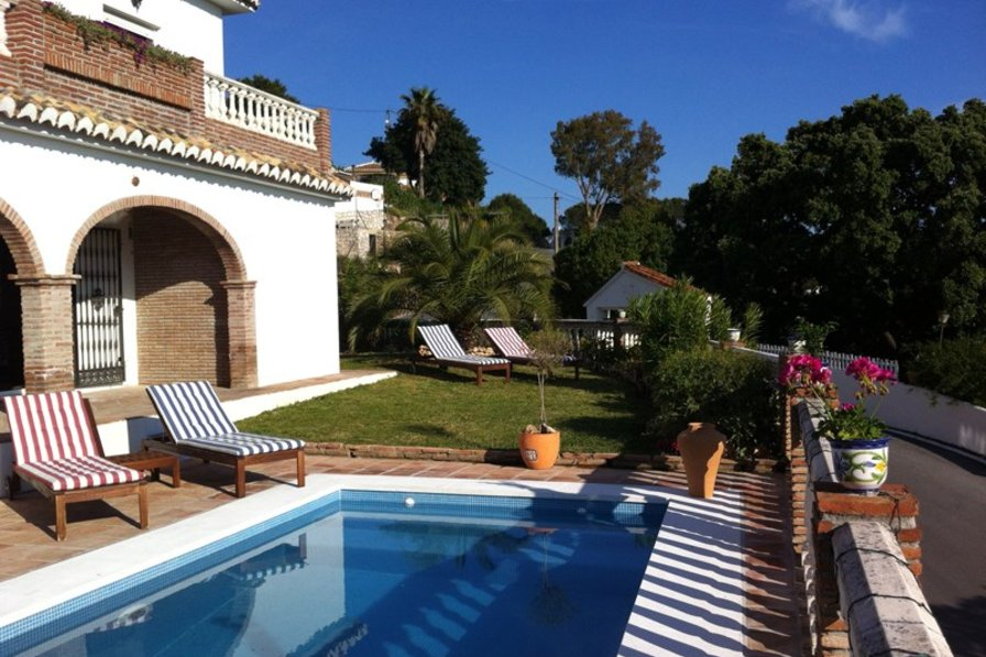 Villa in Spain, Mijas: Pool and Garden