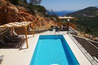 Villa in Greece, Kritsa: Villa Jasmine pool and terrace