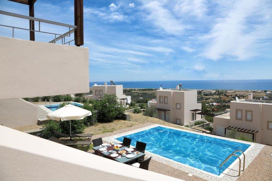 Owners abroad sea view poolvilla in Kalathos near Lindos