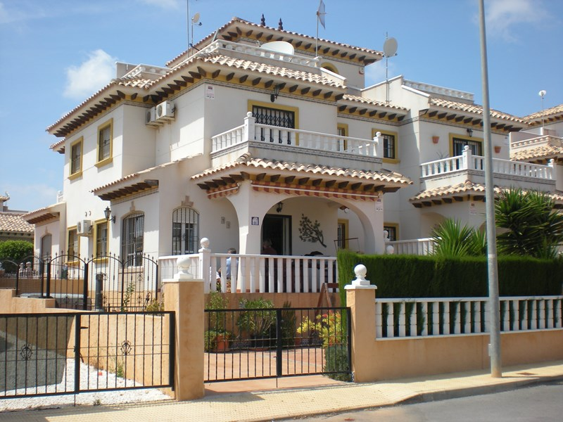 Villa in Spain, Playa Golf: Front of Villa - Modern & Attractive