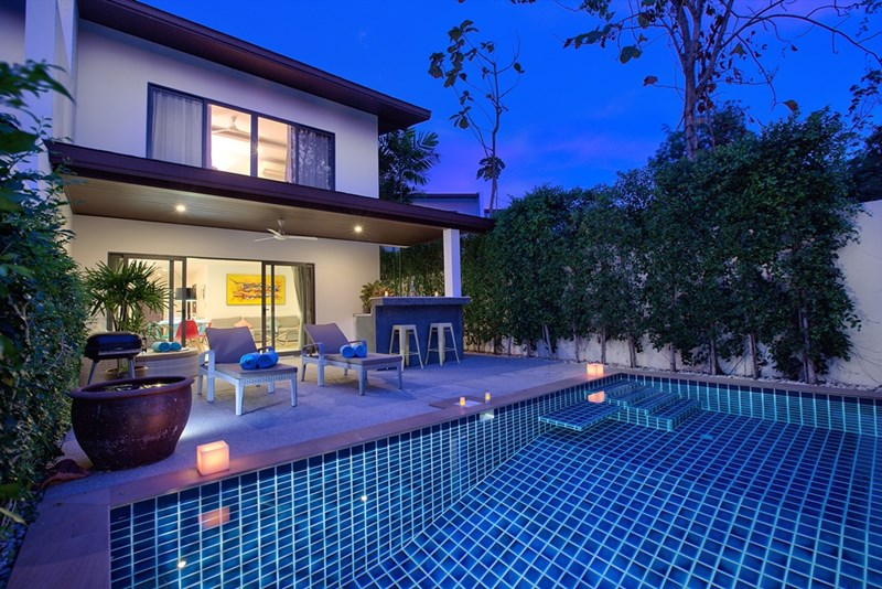 Villa in Thailand, Choeng Mon: Pool view