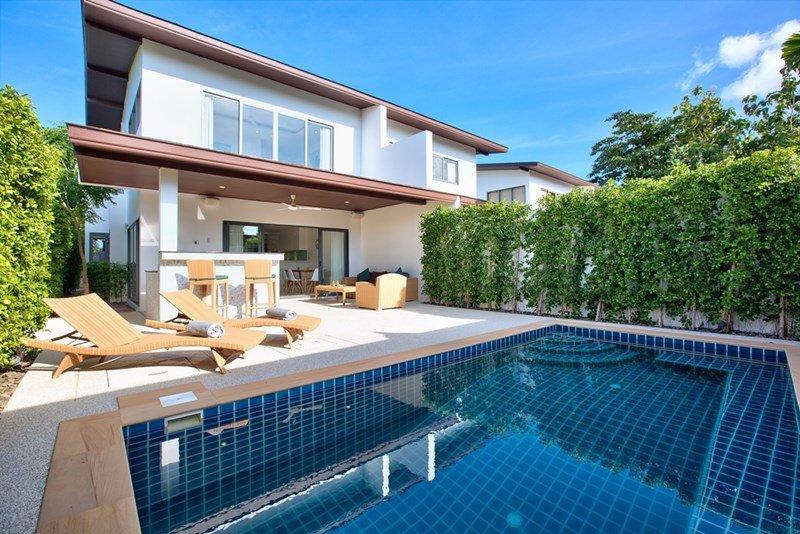 Villa in Thailand, Choeng Mon: Villa Exterior