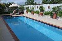 Villa in Thailand, PAK NAM PRAN: REAR GARDEN/POOL