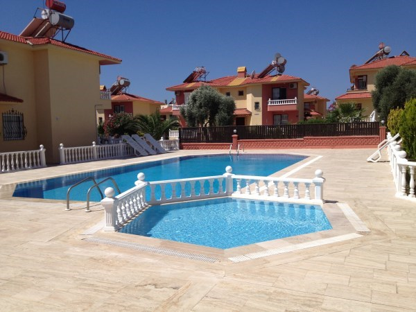 Villa to rent in altinkum turkey with pool 120908 for Villa park pasadena swimming pool