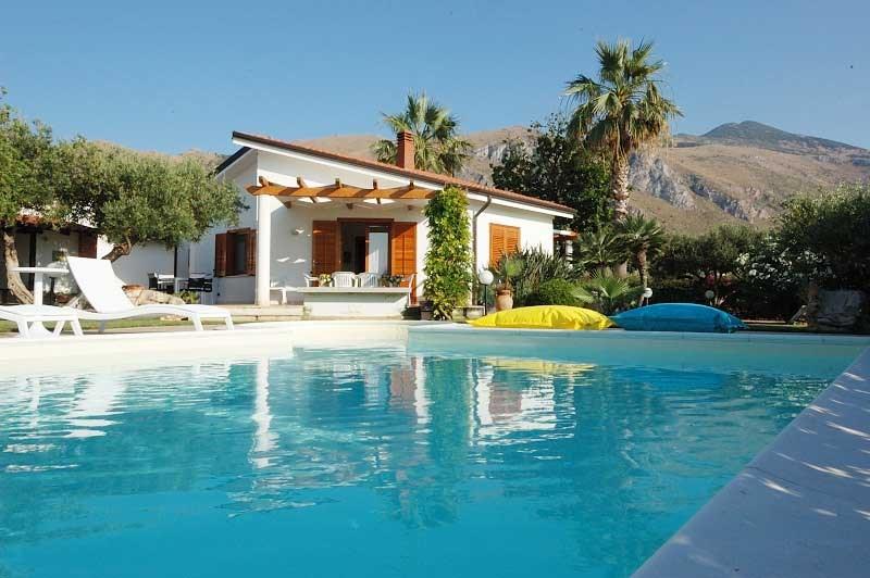 Villa in Italy, Scopello