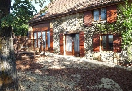Gite in Fajoles, the South of France: The sunny Barn