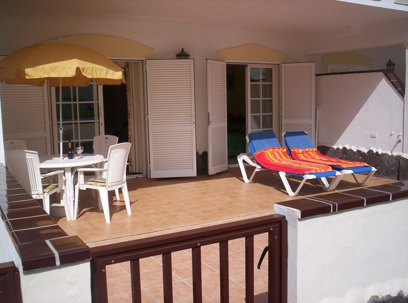 Apartment in Spain, Arona: Large sunny terrace