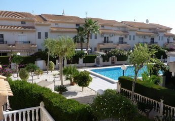 Town House in Spain, Playa Flamenca: View from Balcony - Front Bedroom