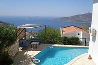 Villa in Turkey, Kalkan: A Pool with a View