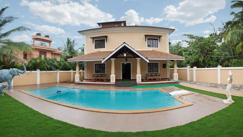 Villa to rent in calangute india with private pool 121633 Private swimming pool for rent in cavite