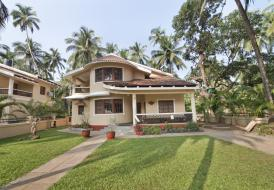 3 Bedroom Luxury Villa in Calangute with a large garden.