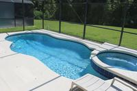 Villa in USA, Sandy Ridge: Pool & Spa with Conservation View