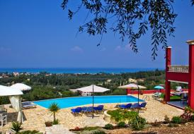 Stylish Regina Rossa Main House only with panoramic sea view
