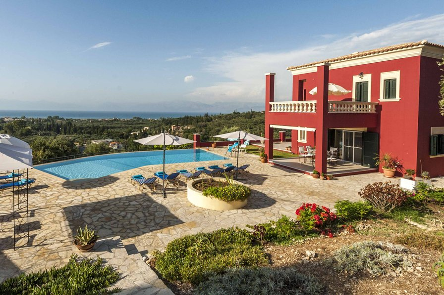 Villa in Greece, Roda