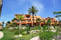 Luxury one bed penthouse close to beach near Marbella