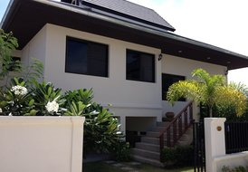 New Listing,New three bedroom Bali Style Villa with private pool.