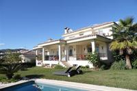 Villa in Spain, Las Brisas Golf: Villa view from Garden