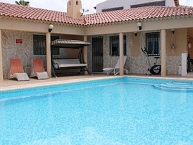 Villa in Spain, Callao Salvaje: The fantastic pool area