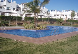 2 Bedroom Apartment with roof terrace on golf  resort -  sleeps 4