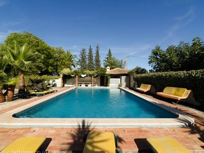 Country house in Portugal, Silves: Stunning pool area