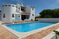 Villa in Portugal, Carvoeiro:  Very quiet Villa with private pool, sea view, 800m from beaches
