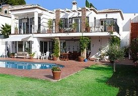 5 Bedroom Villa with Sea Views and Private Pool Southern Spain