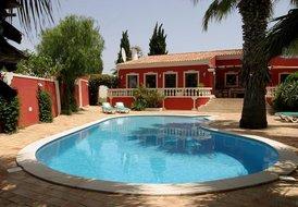 Self-catering villa, Praia da Oura, Albufeira, Algarve