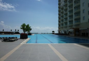Apartment in Turkey, Alanya: The pool area.