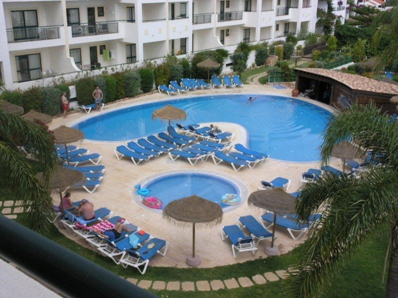 Apartment in Portugal, Albufeira old town: superb, one bedroom modern apartment with private terra..