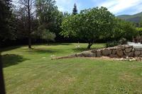 Villa in France, Chateauneuf de Grase: Garden looking West