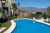 Apartment in Spain, Mijas Costa: Pool with a view