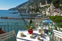 Apartment in Italy, Amalfi: Casa Marina balcony with sea view
