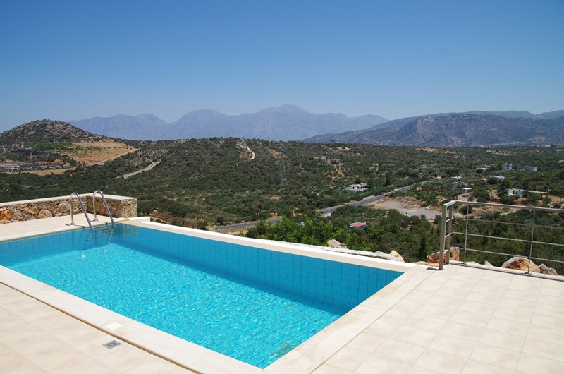 Villa in Greece, Kritsa: Infinity pool and amazing views