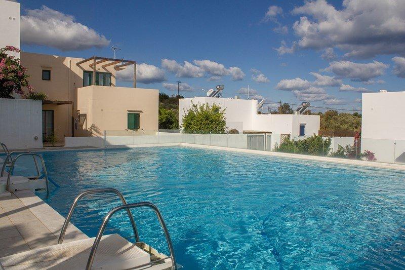 Ground Floor Apartment in Stunning Cretan-style Village with pool