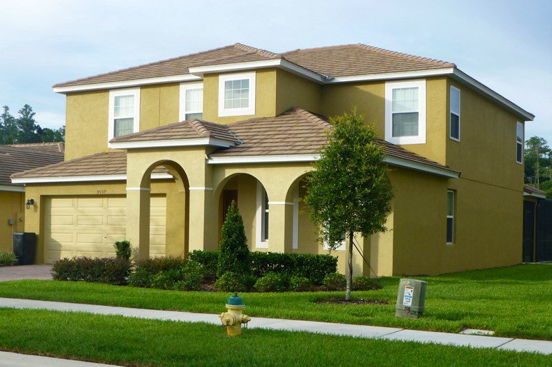 Villa To Rent In Kissimmee Florida With Private Pool 123154